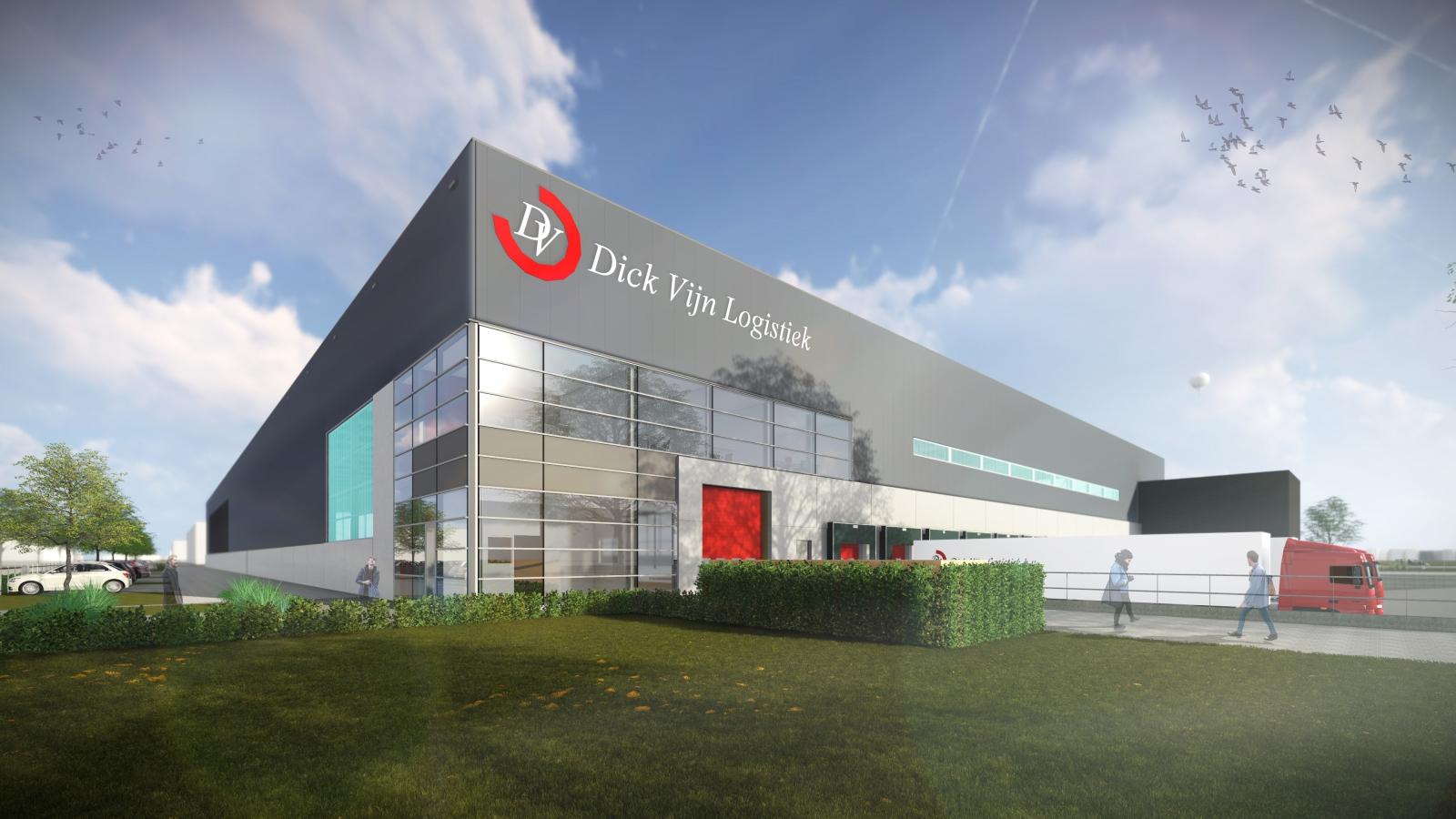 Artikel nieuwbouw Dick Vijn in vakblad Industriebouw