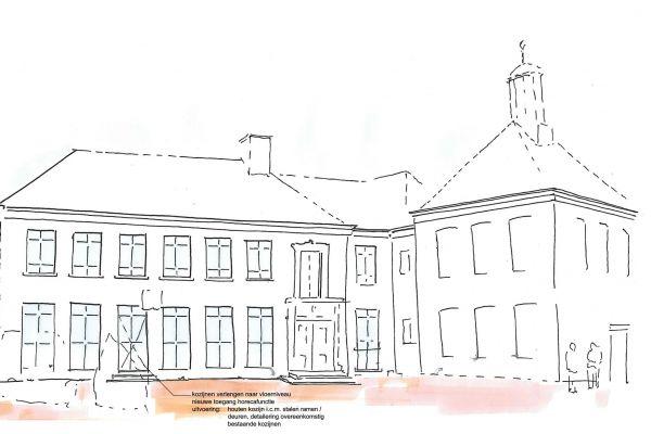Herontwikkeling stadhuis Ootmarsum