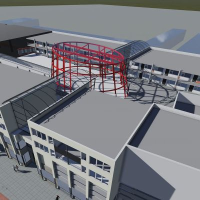 Winkelcentrum Drievriendenhof Dordrecht