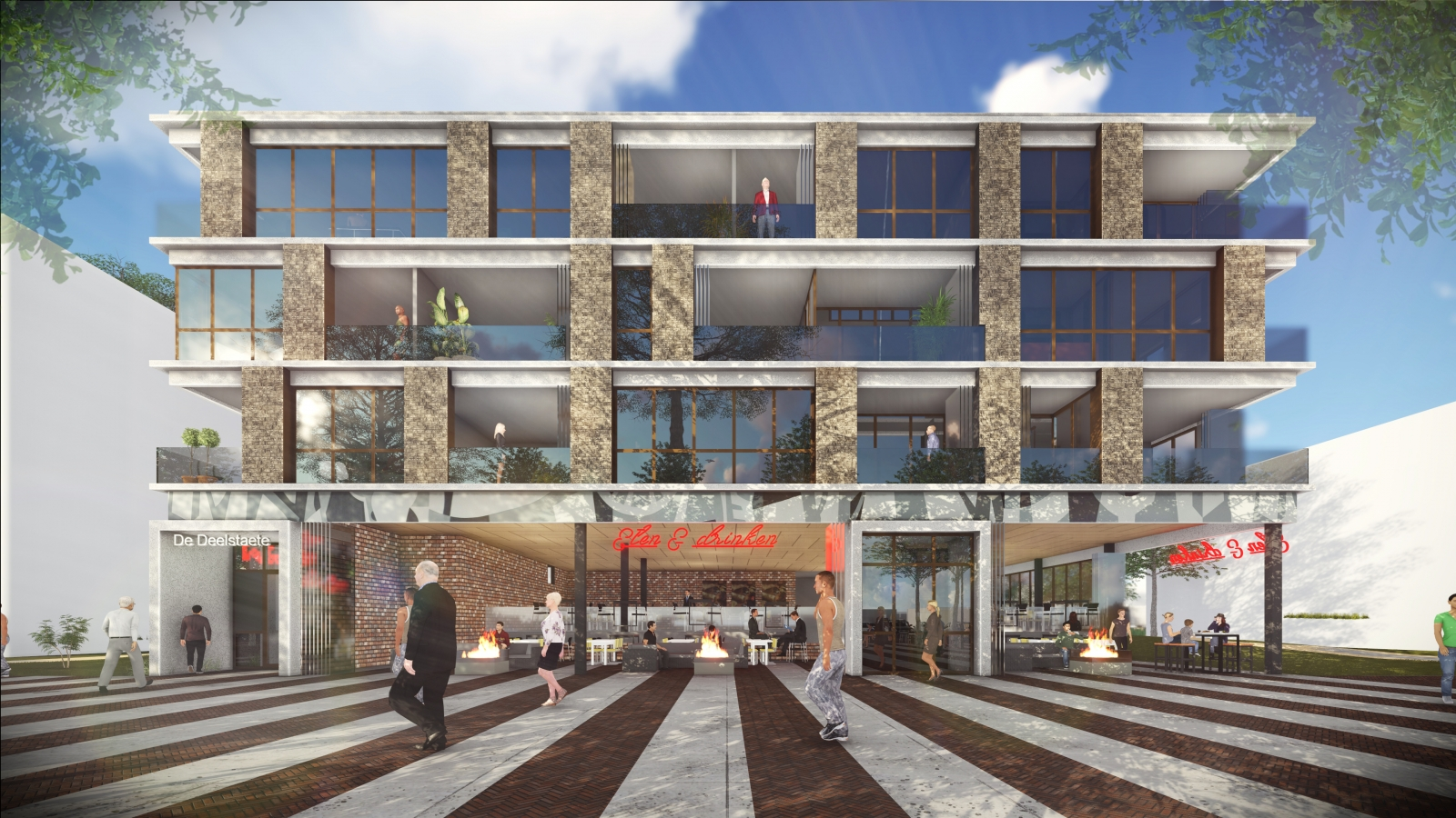 Multifunctioneel gebouw centrumplan Emmeloord
